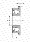 SEALS 2RS, CORROSION RESISTANT, INCH SIZE