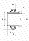 SERIE GE..-KRR-B(INA), SEALS ON BOTH SIDE, FOR HIGH TEMPERATURE (TO +250)