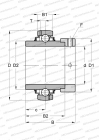 SERIE G..-KRR-B-AS2/V(INA), SEALS ON BOTH SIDE, INCH SIZE