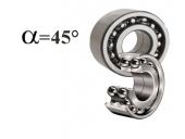 CONTACT ANGLE 45°