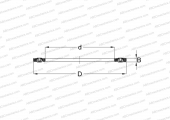 NEEDLE ROLLER AND CAGE ASSEMBLIES, SINGLE DIRECTION