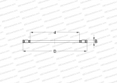 SINGLE DIRECTION, THRUST CYLINDRICAL ROLLER AND CAGE ASSEMBLY, SPECIAL SERIES (INA)