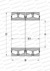 METRIC SIZE, DESIGN 1 (FAG)