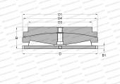 FOR SCREW DOWN MECHANISMS, DESIGN 3 (FAG)