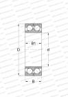 NON-SEPARABLE, FOR WIRE MILLS, DESIGN 1 (FAG)
