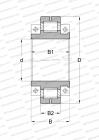 SPLIT, FOR CRANKSHAFTS IN COLD PILGER ROLLING MILLS, DESIGN 1 (FAG)