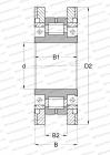 SPLIT, FOR CRANKSHAFTS IN COLD PILGER ROLLING MILLS, DESIGN 3 (FAG)