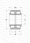 FOR VERTICAL ROLLS IN UNIVERSAL ROLL STANDS, DESIGN 2 (FAG)