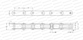 DOUBLE PITCH, ROLLER (SKF)
