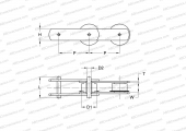 TYPE M, FLANGED ROLLER (SKF)