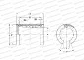 CORROSION RESISTANCE, STAINLESS STEEL CAGE (NB)